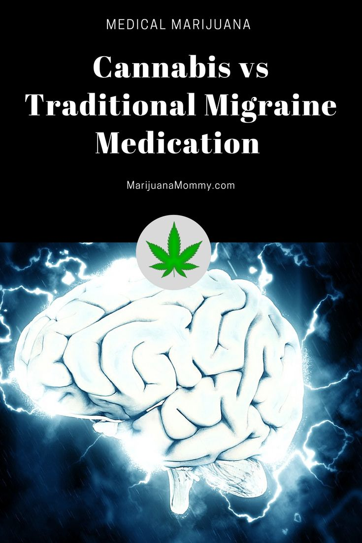 Here are the benefits of medical marijuana vs traditional migraine medication.