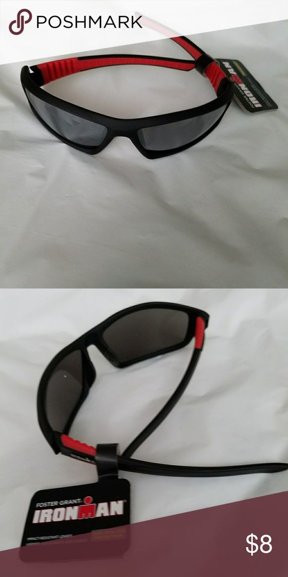 Sunglasses Foster Grant Ironman sunglasses, impact resistant lenses, 100% UVA-UVB protection..brand new with tag.. Foster Grant Accessories Glasses