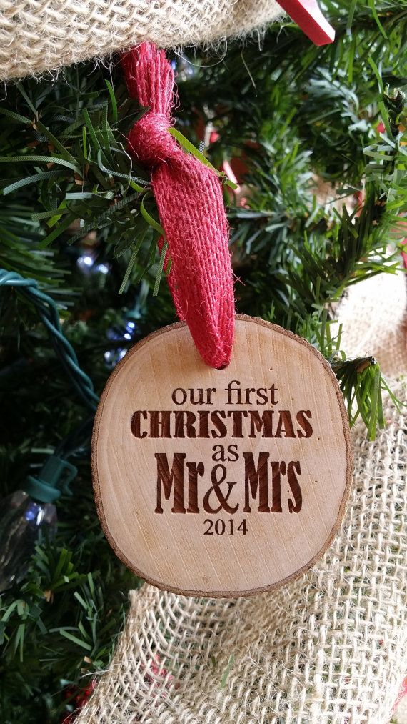 Our First Christmas Ornament Couple's First by NeedmoreHeart