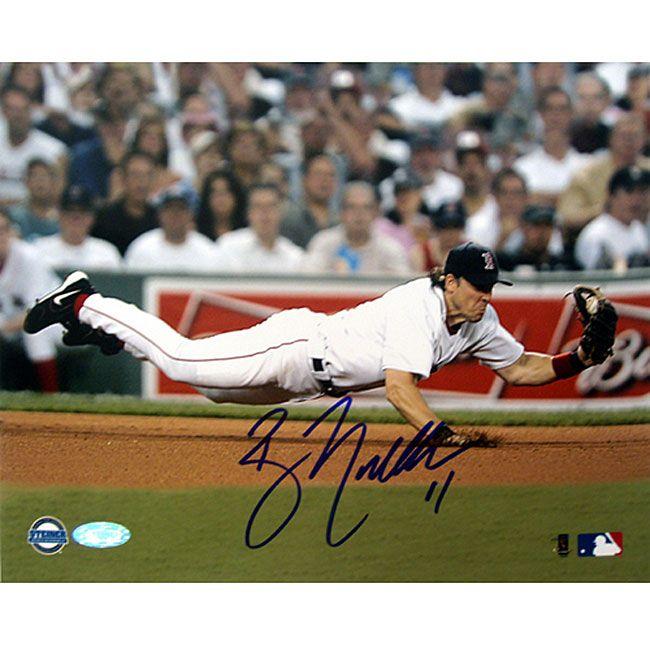 Steiner Boston Sox Bill Mueller Dive 8x10 Autographed Photo