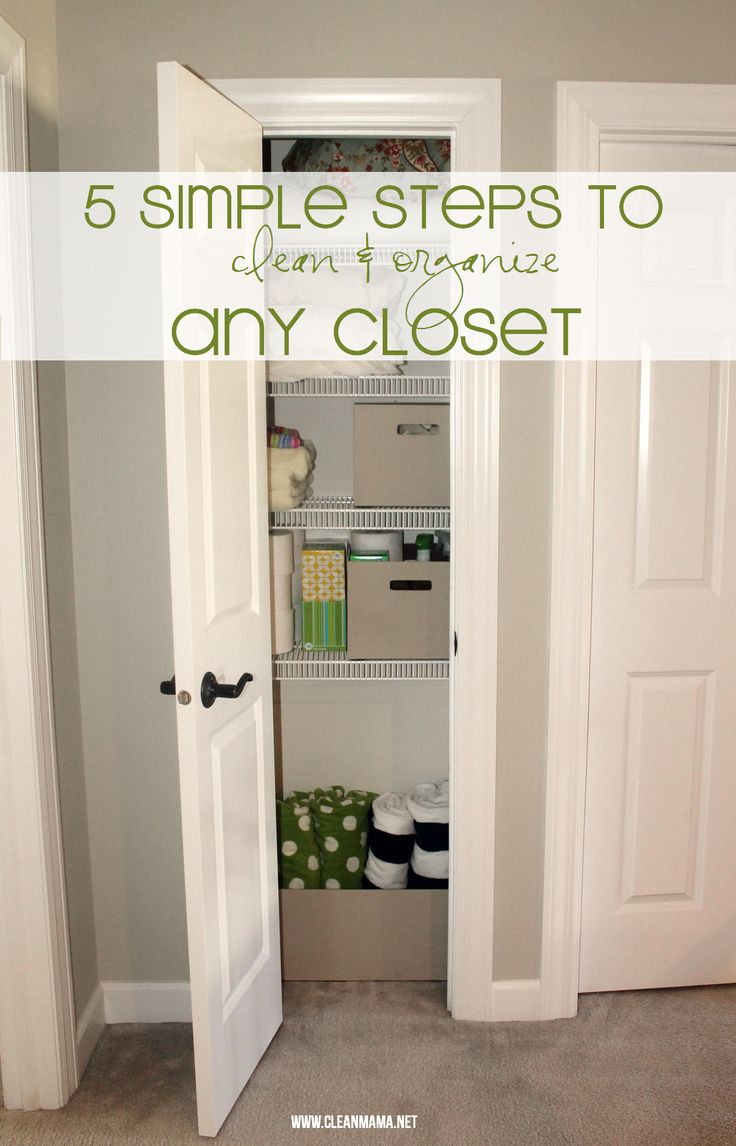 Best 25 cleaning challenge ideas on pinterest daily for Best way to organize your closet