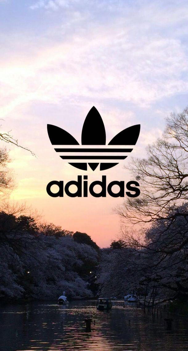 Adidas Sonnenuntergang