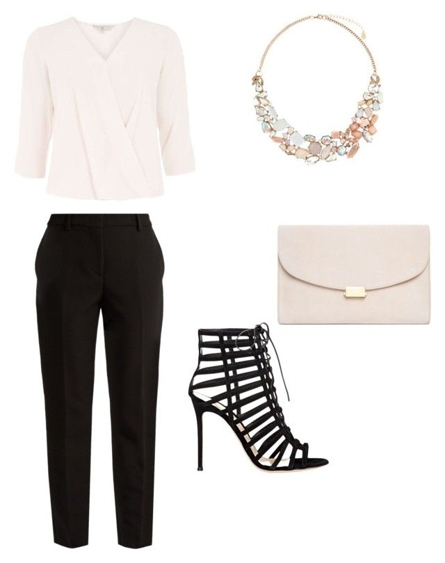 """""""Untitled #52"""" by erikaelena23 on Polyvore featuring Billie & Blossom, MSGM, Gianvito Rossi, Mansur Gavriel and Accessorize"""