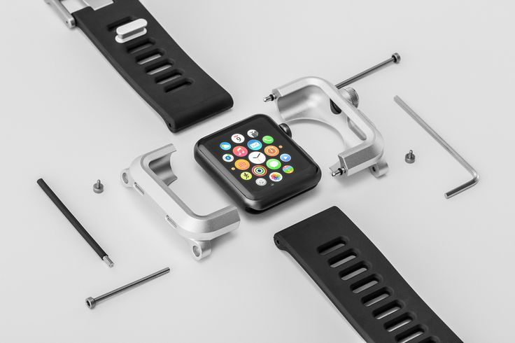 LUNATIK Epik for Apple Watch on Behance, the first watch case on this board.