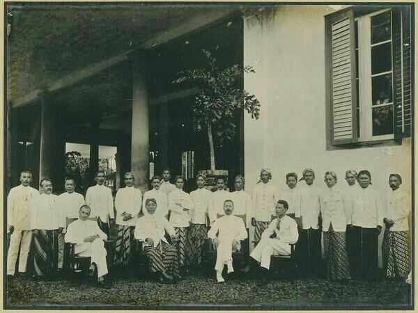Installatie van de regentschapsraad van Tjiamis. 1926-1929
