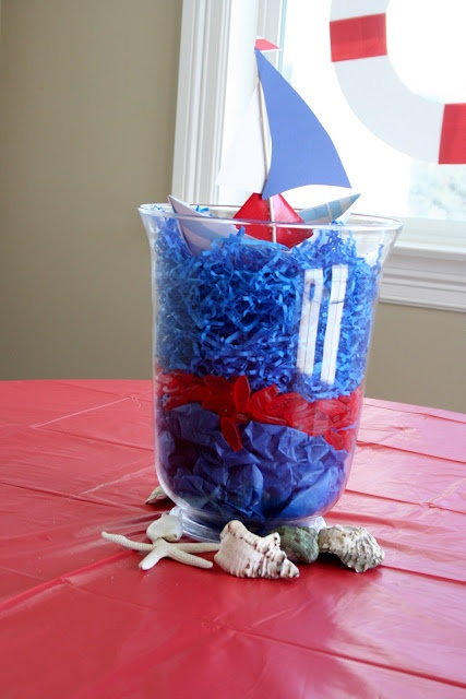 Nautical Party Centerpiece