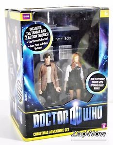POSTED to CZECH REPUBLIC. Christmas Doctor Who Adventure Set with Amy Pond. SOLD £39.99