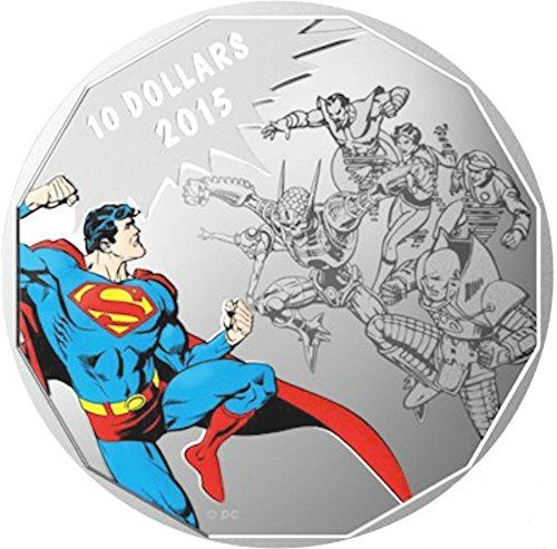 2015 Canada 1/4 oz Silver $10 Original Superman: Gauntlet Brilliant Uncirculated @ niftywarehouse.com #NiftyWarehouse #Superman #DC #Comics #ComicBooks