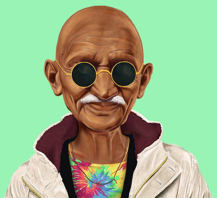 Mahatma Gandhi Estadista Mohandas Karamchand Gandhi, mais conhecido popularmente por Mahatma Gandhi foi o idealizador e fundador do moderno Estado indiano e o maior defensor do Satyagraha como um meio de revolução. Nascimento: 2 de outubro de 1869, Porbandar, Índia Nacionalidade: Indiano Assassinado em: 30 de janeiro de 1948, Nova Deli, Índia Obras: Minha Vida e Minhas Experiências com a Verdade, As Palavras de Gandhi Filhos: Harilal Gandhi, Devdas Gandhi, Manilal Gandhi, Ramdas Gandhi