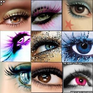 Makeup eye designs