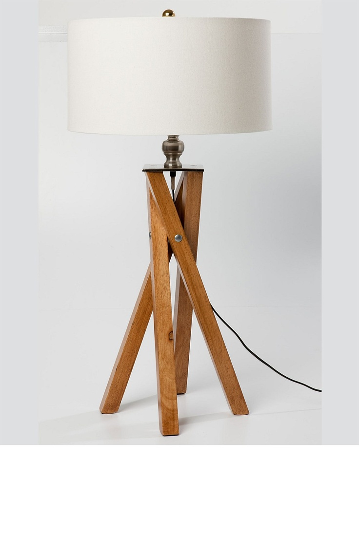 40 best Project - Wood Lamps images on Pinterest | Wooden lamp ...