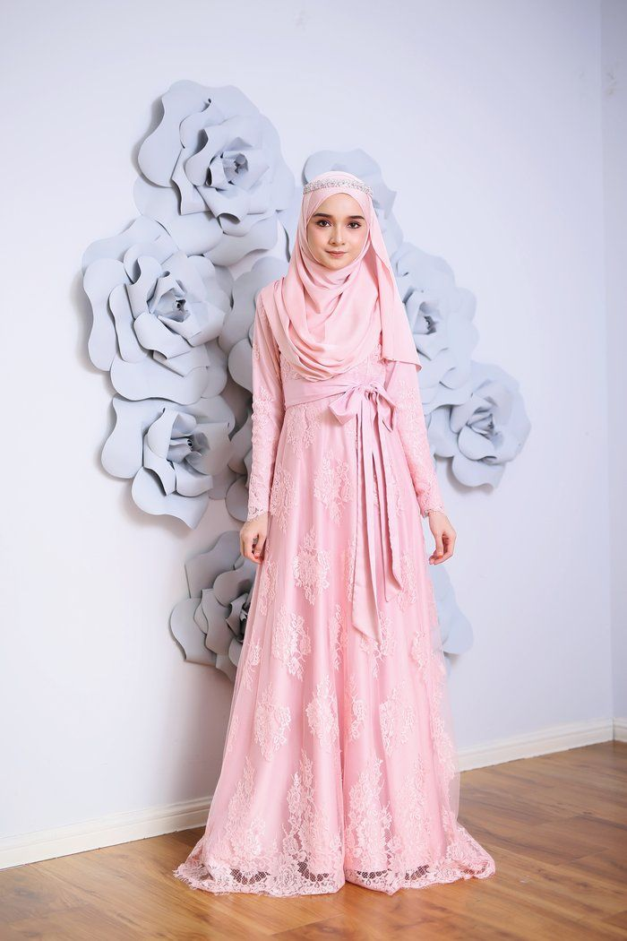 The Dresses in Dusty Rose