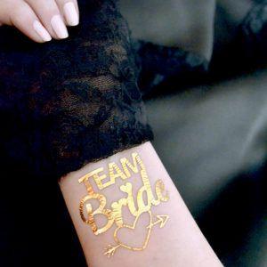 Tatuaje personalizate pentru mirese ….  sau trend-ul anului 2016 – GOLD TATTOO Blog ~ by Precious