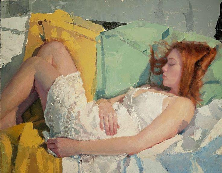 Por Amor al Arte: Michael Fitzpatrick ~ Pintor figurativo