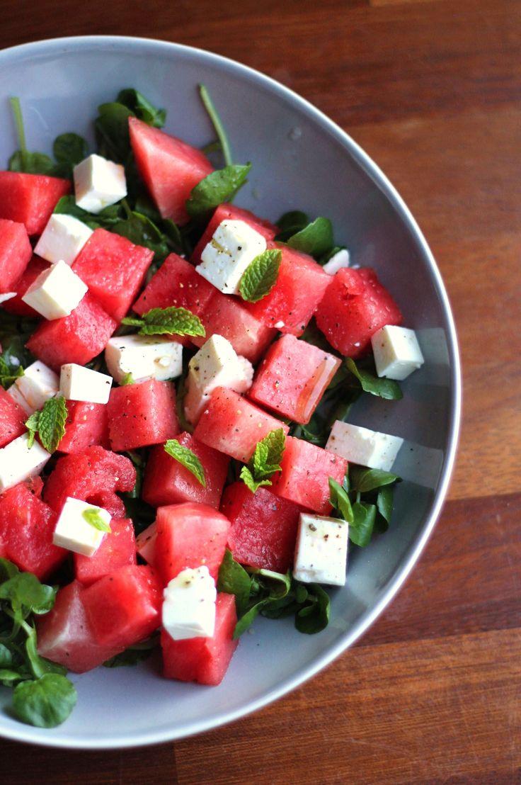 feta, watermelon & mint #eat #food #yumm #recipe