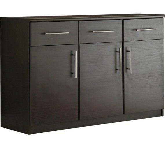 Buy HOME Anderson 3 Door Drawer Sideboard