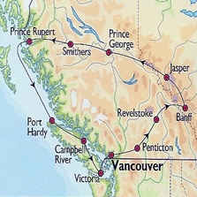 Canada (Brits-Columbia) - Fly and Drive Totem Peaks - Reizen Noord-Amerika (Tisza-Travelling)