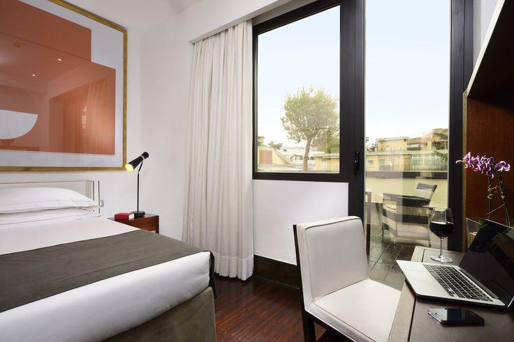 Single Room - Hotel Pulitzer Roma #hotel #Roma #hotelroom