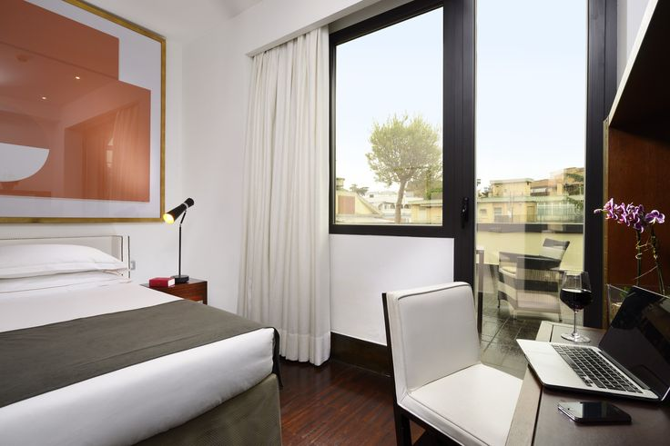 Single Room - Hotel Pulitzer Roma #hotel #Roma #hotelroom