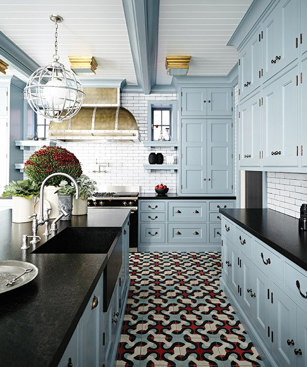 16 Traditional Kitchens With Timeless Appeal. Ugly KitchenBlue Kitchen  CabinetsKitchen ...
