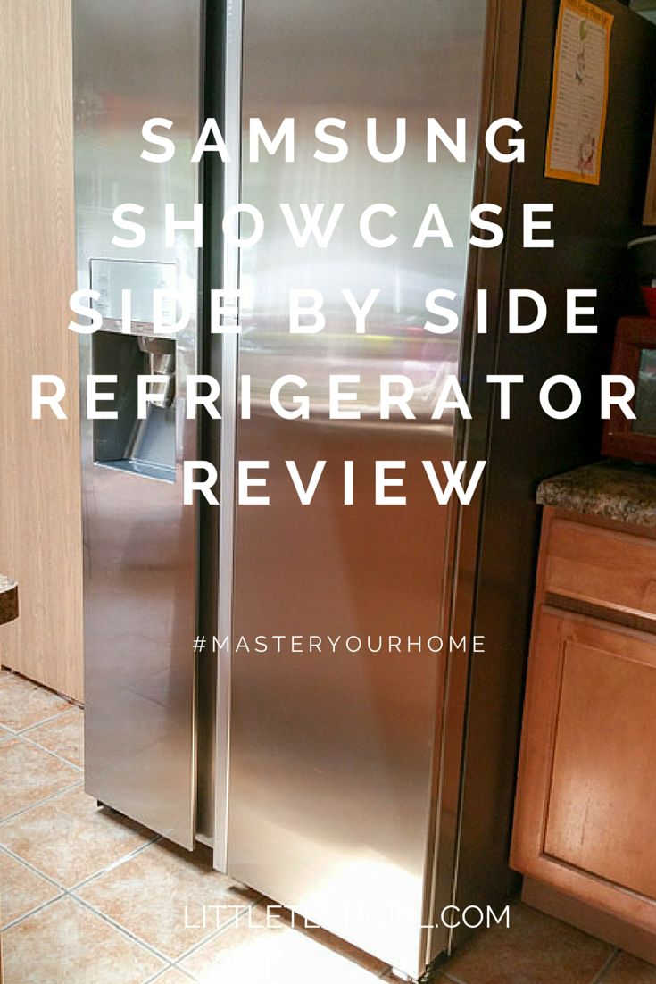 Amana side by side refrigerator reviews - Samsung Showcase Side By Side Refrigerator Review
