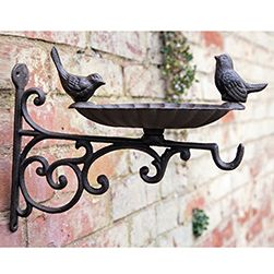 Cast Iron Bird Bath Bracket