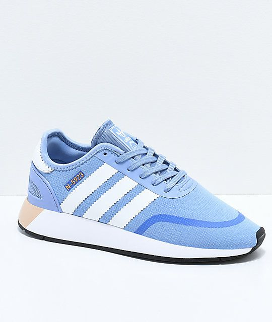brand new f7942 d9071 adidas N-5923 CLS Chalk Blue   White Shoes in 2019   Shoes   White shoes, Adidas  shoes, Adidas