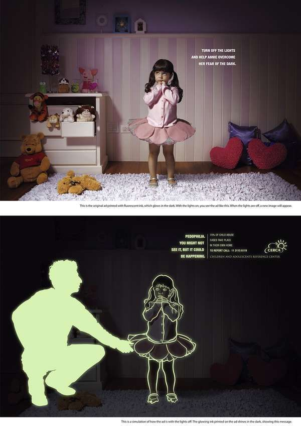 Glow in The Dark Ads