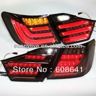 Camry 2012-13 год Aurion СВЕТОДИОДНЫЕ Задние Свет для BMW Style Дым Черный Цвет V1