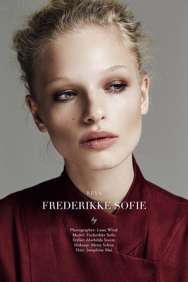 visual optimism; fashion editorials, shows, campaigns & more!: frederikke sofie by lasse wind for revs magazine!