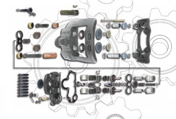 Continual Brake Caliper Repair Kits For Truck Bus and Van: Explaining the World of Remanufactured Parts