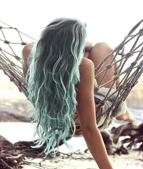 Long blue