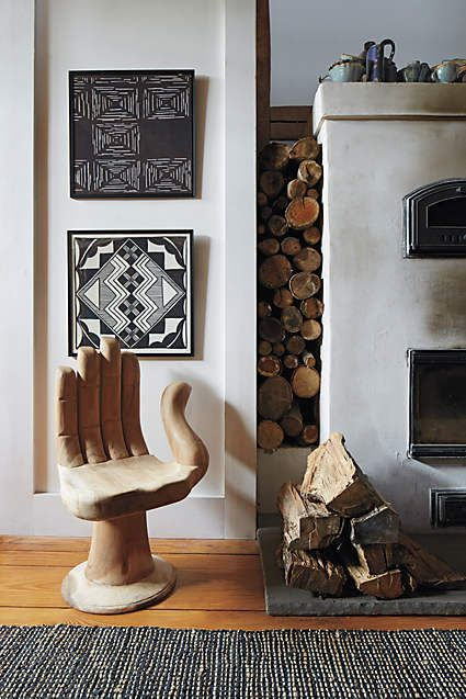 AMY PEARSON DESIGN BLOG POST - AT HOME WITH ANTHROPOLOGIE. IMAGE VIA  ANTHROPOLOGIE