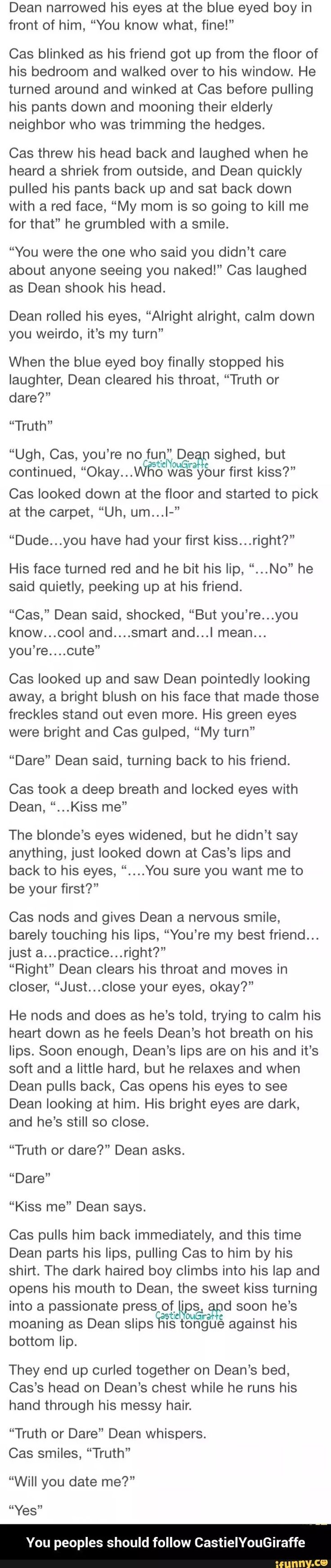 Supernatural Dean Cas