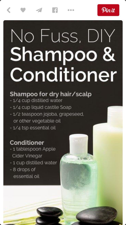 Clean shamp. & conditioner