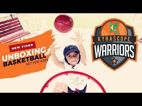 Basket Ball Kit for Kids : Kids can play basketball indoor and outdoors unboxing…