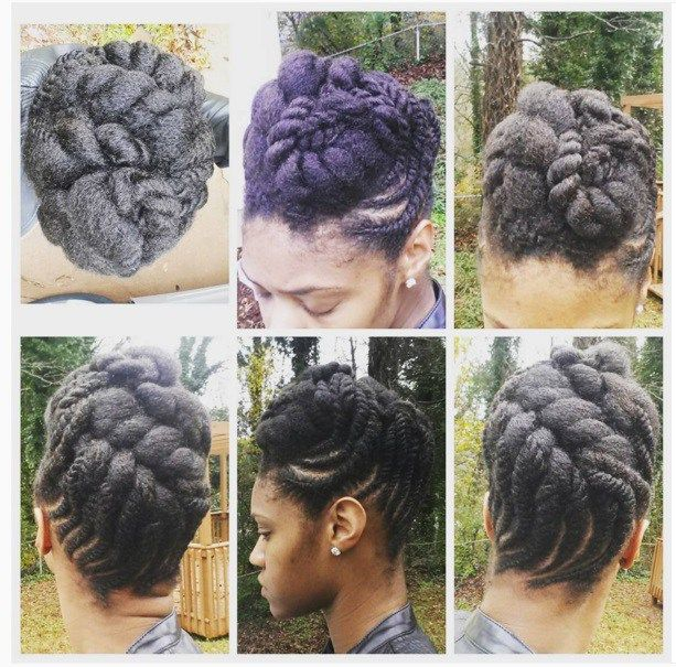 When we cut our hair short, we are often left staring in the mirror for hours, trying to figure out how in the world to shape it so that it can at least look somewhat sleek in an updo.
