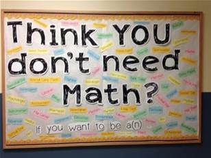 Professions that require math-- nice! (scheduled via http://www.tailwindapp.com?utm_source=pinterest&utm_medium=twpin&utm_content=post10436136&utm_campaign=scheduler_attribution)