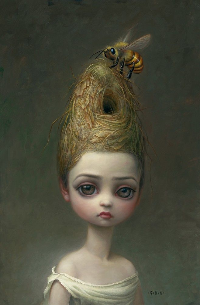 Queen Bee 2016 by Mark Ryden - Lithograph