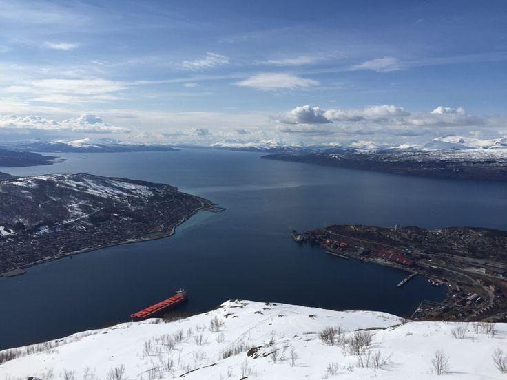 Utsikt over Narvik