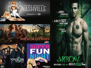 Wednesday Night TV, Nashville, Arrow, Super Fun Night, The Tomorrow People, Revolution, TV Worth Blogging About: What We Are Watching This FALL