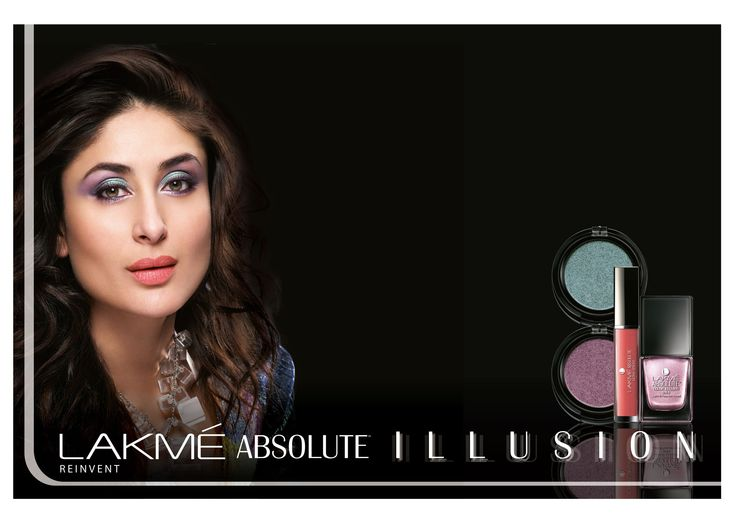 Lakme Absolute Illusion make-up range: Create an interplay of light & colors.