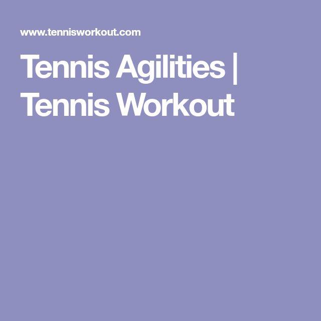 Tennis Agilities | Tennis Workout