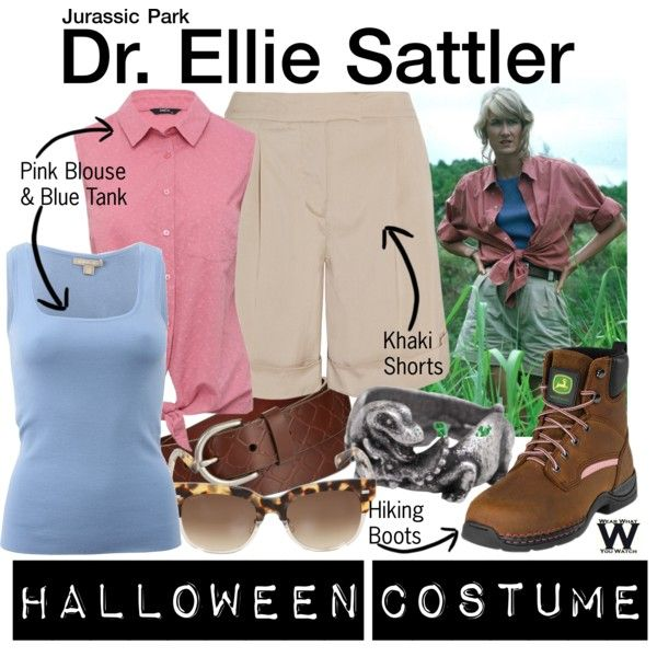 Inspired by Laura Dern as Dr. Ellie Sattler in 1993's Jurassic Park.
