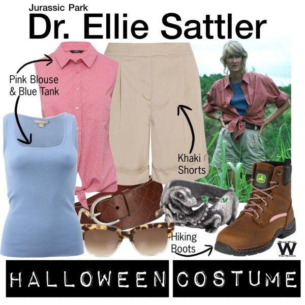Inspired by Laura Dern as Dr. Ellie Sattler in 1993's Jurassic Park.