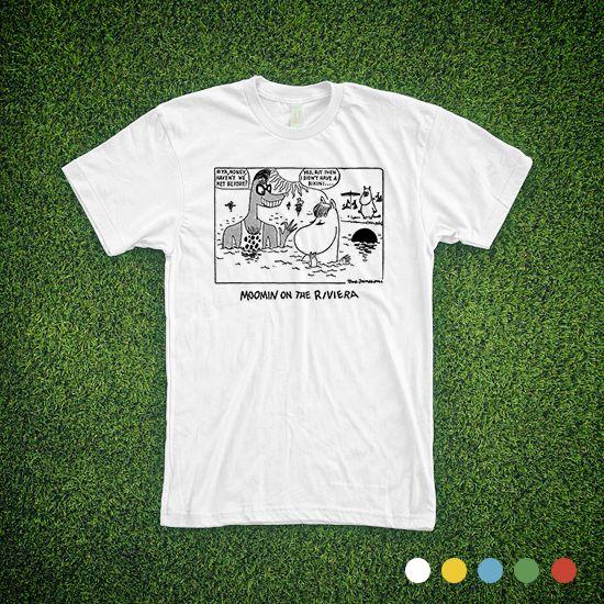 Haven't we met before - Moomins on the Riviera