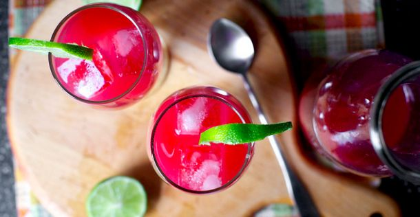 Op en top zomers: Margarita's met bloedsinaasappel