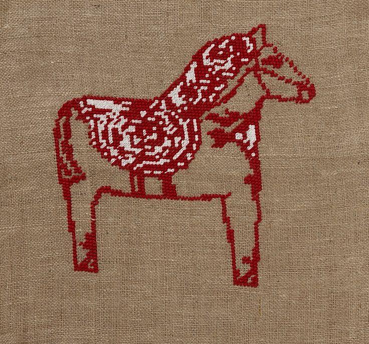 The typical Swedish symbol - Dala horse!