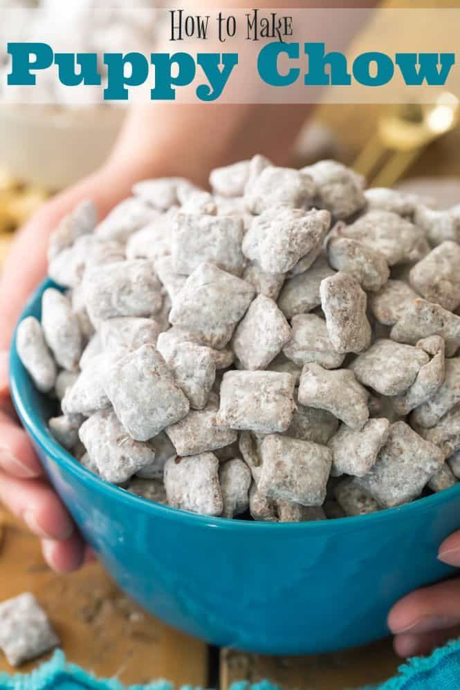 How To Make Puppy Chow Don T Feed It To Your Dogs This Delicious Snack Is For Human Best Puppy Chow Recipe Easy Puppy Chow Recipe Puppy Chow Chex Mix Recipe