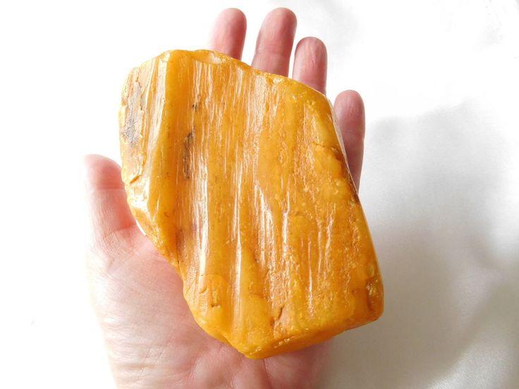 Roh Bernstein Butterscotch Raw Amber, 210g in Uhren & Schmuck, Edelsteine, Farbsteine | eBay!
